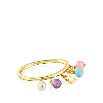 [최초출시가 109,000원]Silver Vermeil Cool Joy Ring with Gemstones/반지/018155520/52호(12호)