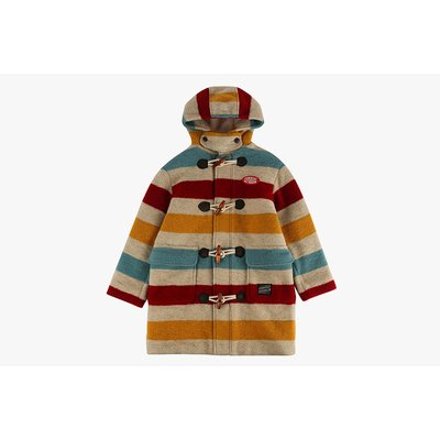 [20% SALE] Icebiscuit stripe duffle coat