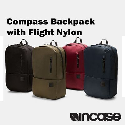 Compass Backpack with Flight Nylon - Olive