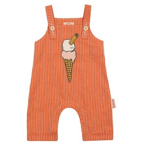 Ice cream cone baby stripe playsuit BP8216130
