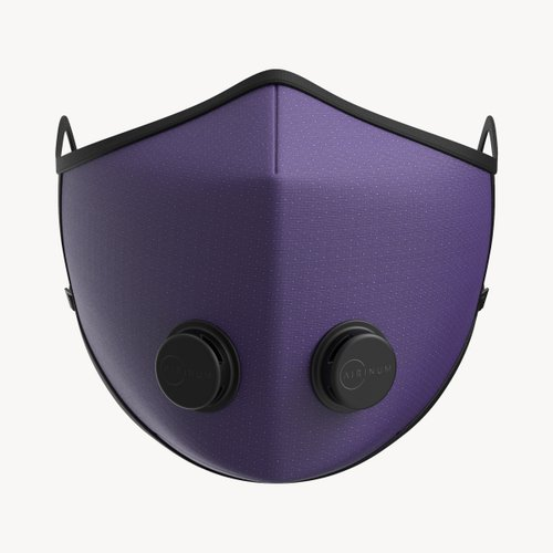 Urban Breathing Mask Dots Purple