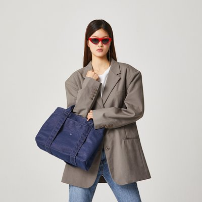 [조셉앤스테이시] Stacey Daytrip Tote Canvas M Denim