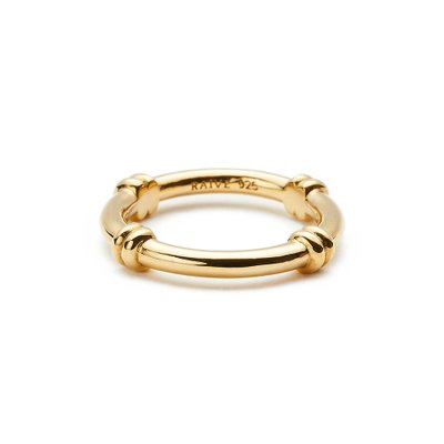 [레이브]Crossed Chain Ring in Gold VX0SX0490