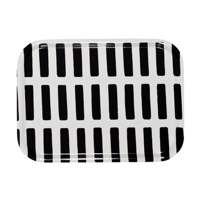 SIENA SMALL TRAY White/Black