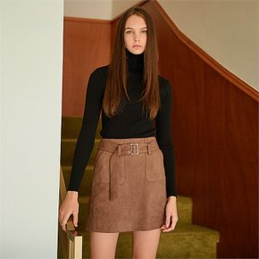 [클렛] BASIC RIB KNIT BLACK (1817742)