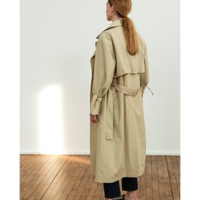 TRENCH COAT R18W001 (OLIVE BEIGE)