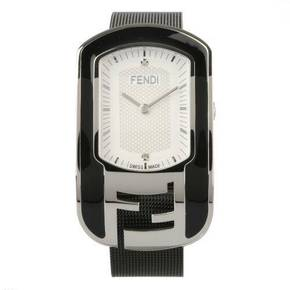 (면세정상가787,000원)[FENDI WATCH]Chameleon Stainless Steel Enamel Mesh / F341034000D1(8월마감환율기준)