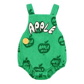 All over apple milk baby terry playsuit (BP0216174)