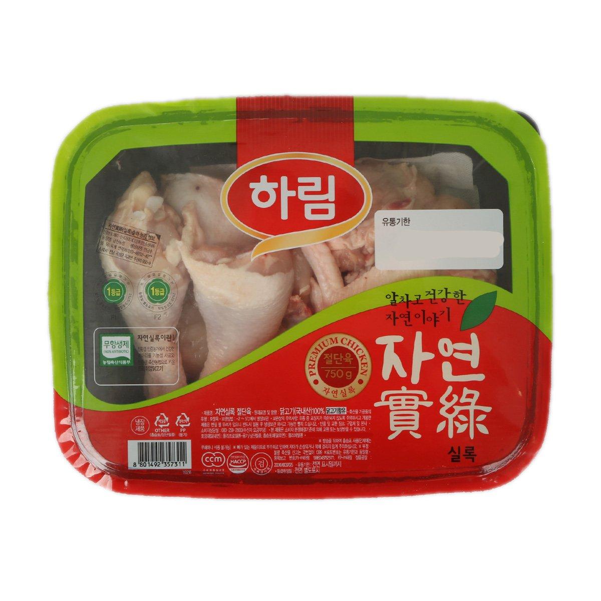 [하림] 자연실록 국내산 닭 볶음용 9호 (750g)