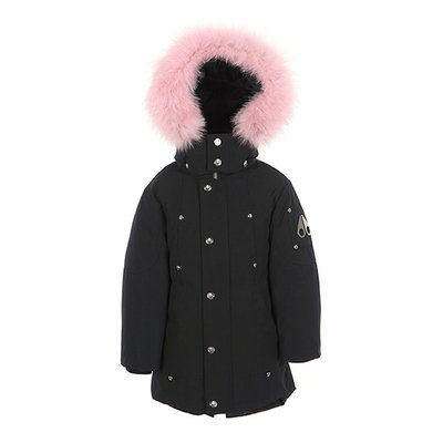 [MOOSEKNUCKLES] 키즈 컬러퍼 파카 Unisex Parka -color fur (18FMK8731UPMK278)