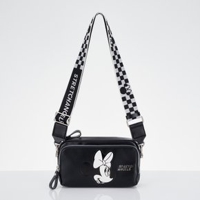 ■SUMR21011■[스트레치엔젤스X디즈니]Minnie-mouse PANINI bag_BLACK