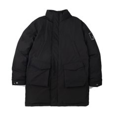 A PATCH DAILY FIELD PARKA (BLACK)