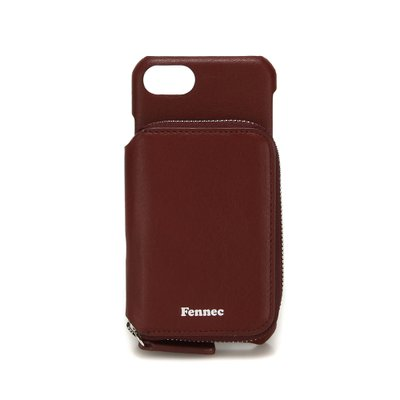FENNEC LEATHER iPHONE 7/8 MINI POCKET CASE - WINE