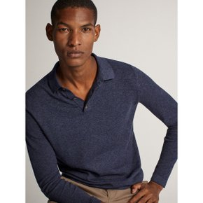 COTTON/SILK/CASHMERE POLO SWEATER 00906440401
