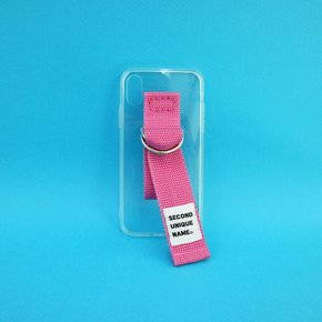 SUN CASE CLEAR PINK (JELLY CASE)