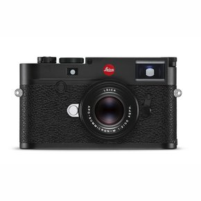 [본사직영]SSG 단독  LEICA M10-R, black chrome finish