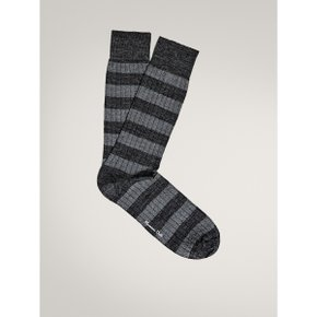 WOOL RIBBED SOCKS WITH STRIPES 00628408802