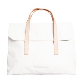 R TOTE 150 MINU RUGGED CANVAS WHITE
