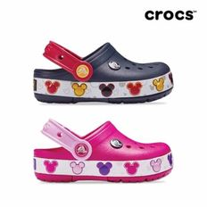 크록스공식 아동 CROCBAND MICKEY FNLB LIGHTS K 2종 택1  19SKBL204994