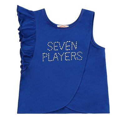 Seven players ruffle tank top / BP8232406