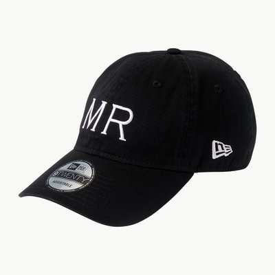 NEW ERA MR CAP BLACK