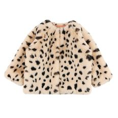 Leopard faux fur coat BP8417401
