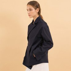 Wrap Trench Shirts - Navy