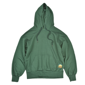 BASIC WORKS HOOD GREEN