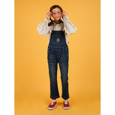 [20% SALE] Daisy boots-cut denim overall pants