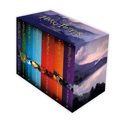 [영어원서] Harry Potter 1-7 Boxed Set 영국판