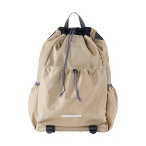 STRING BACKPACK 750 W.NYLON BEIGE