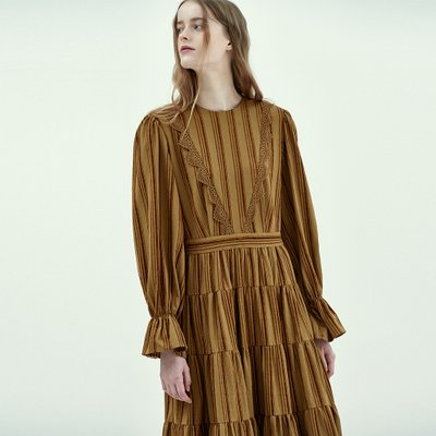[9/26 예약배송] Bohemian Maxi Dress in Khaki