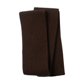 SCARF NATURAL BROWN