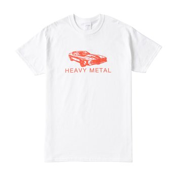 HEAVY METAL TEE WHITE