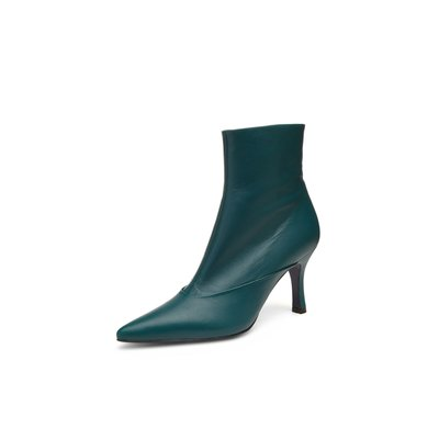 Point toe ankle boots(green)_DG3CX18514GRN