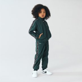 [골스튜디오] [KIDS] SMALL LOGO TRACK PANTS - DARK GREEN (키즈)