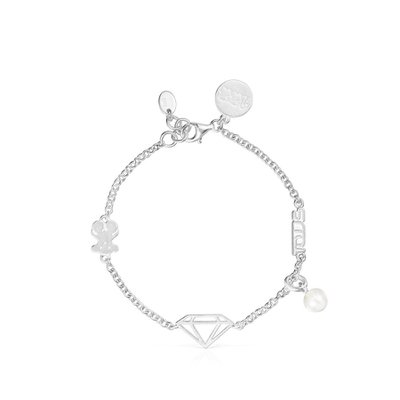 [최초출시가 131,000원]Silver Since 1920 Bracelet with Pearl/팔찌/018081510