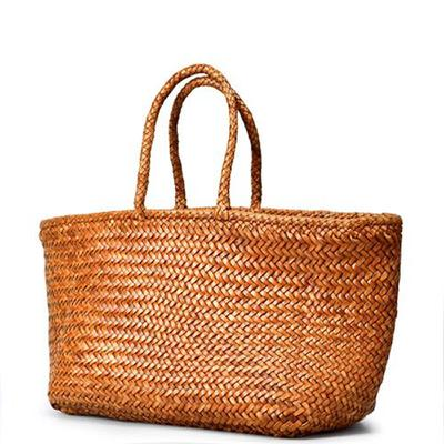 [드래곤백] DRAGON BAG 8856 GRACE BASKET BIG_TAN
