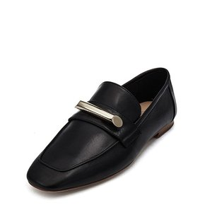 Metal loafer(black)_DG1DX19514BLK