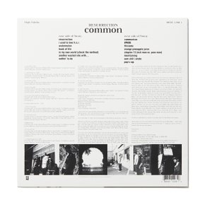 [USED VINYL] Common-Resurrection