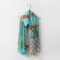Silk Chain Scarf
