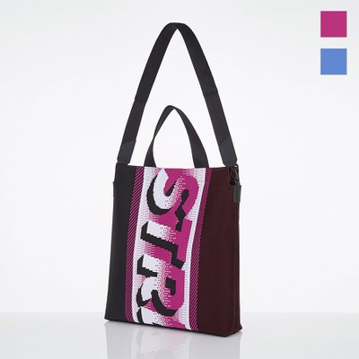 [S.K.N] Pixel logo shopper bag (2color)