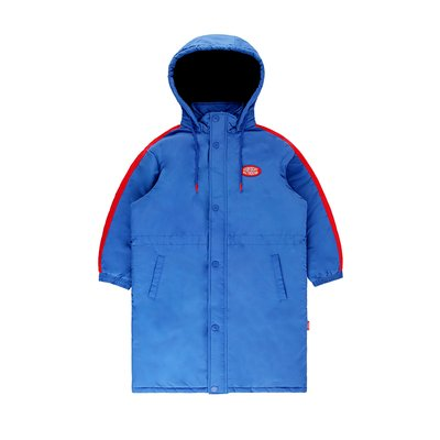 [20% SALE] Icebiscuit color block stadium parka