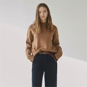 CUTTING TURTLE SWEATER_CAMEL (3984931)