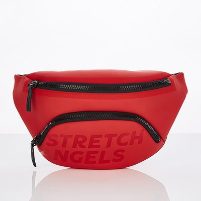 스트레치엔젤스[S.P.U] Round pocket fanny bag (Red)