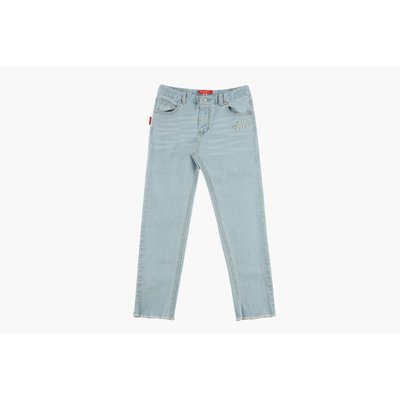 [20% SALE] Icebiscuit cut-off light denim pants