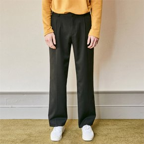 SEMI WIDE SLACKS_BLACK (1844539)