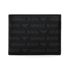 ARMANI JEANS 알마니 진 938538 CD996 00020 MAN WALLET with Coin BLACK 반지갑