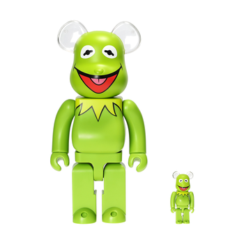 400%+100% BEARBRICK KERMIT THE FROG