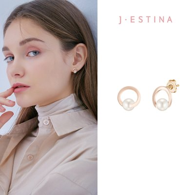BASIC PERLINA 14K 귀걸이 (JJP1EF1BS183R4000)